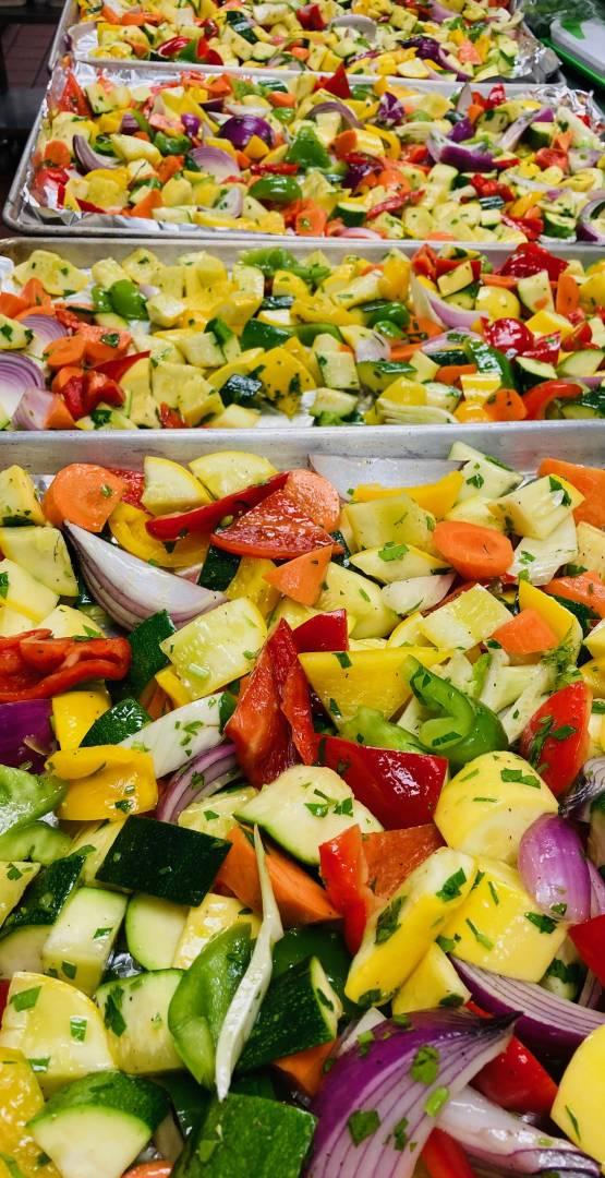 Roasted Vegetables (add on)