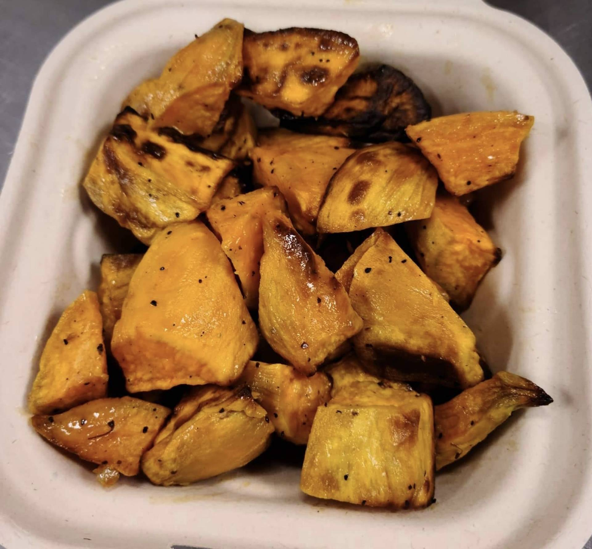 Roasted Sweet Potatoes Add-on
