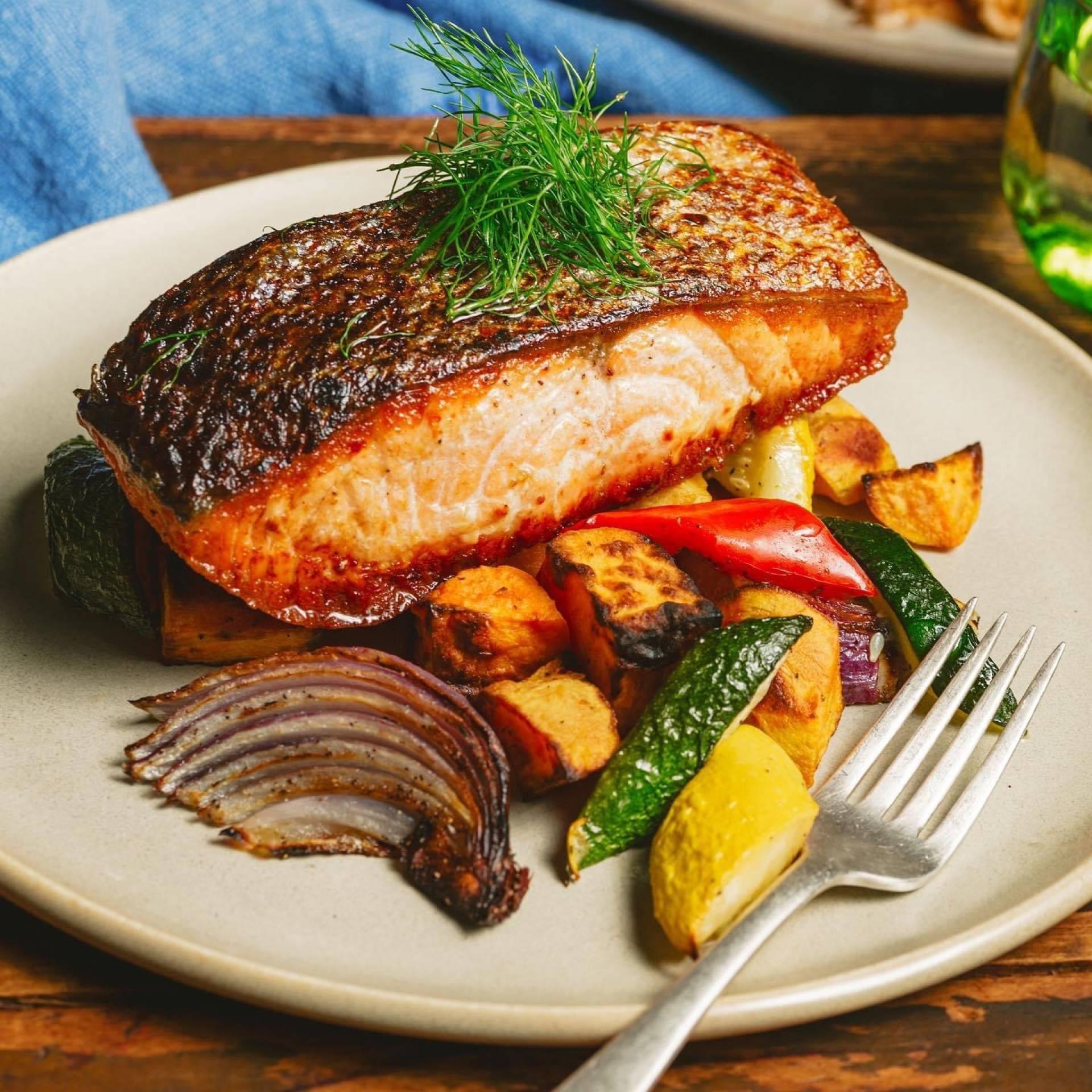 Wild Caught Salmon upcharge