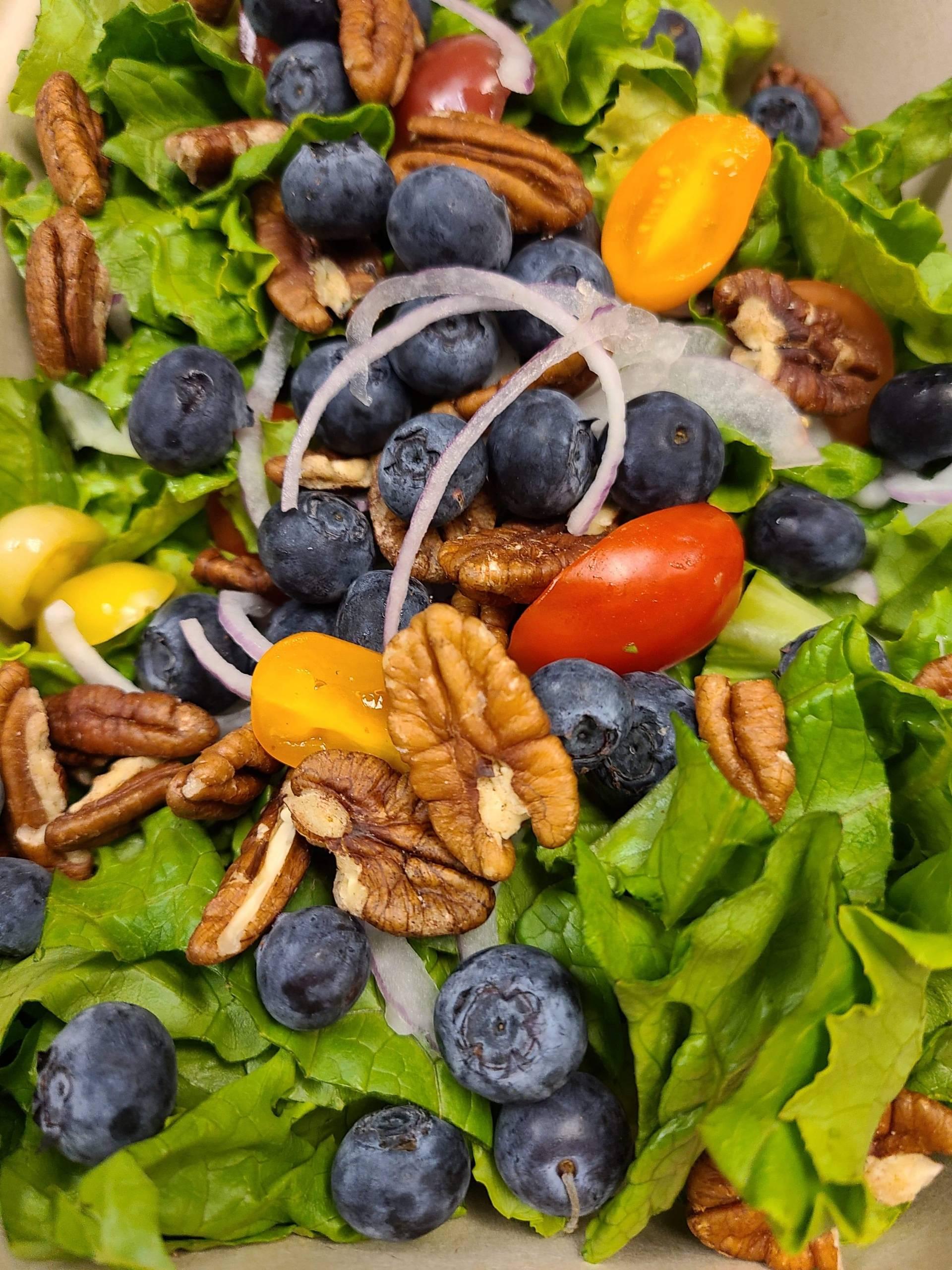 Native Green Salad-shrimp