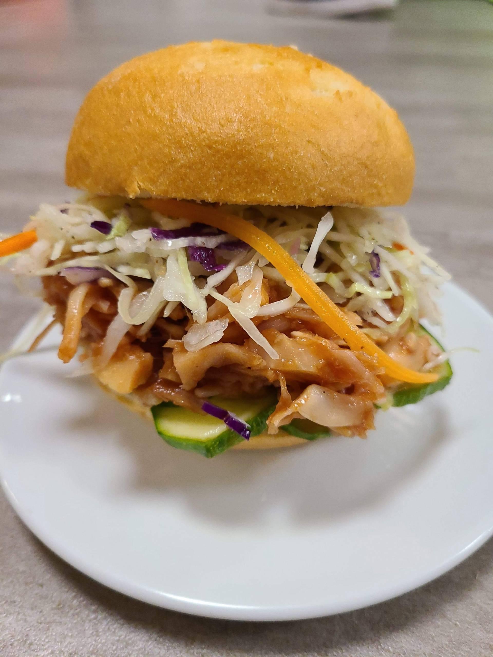 BBQ Pulled Jackfruit Sandwich