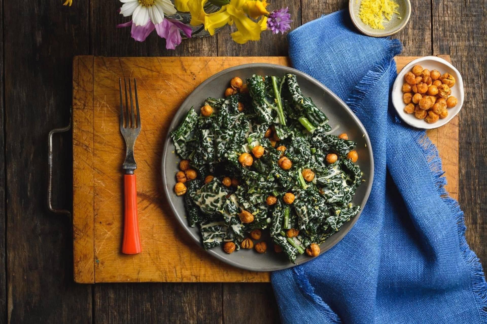 Kale Salad-tofu