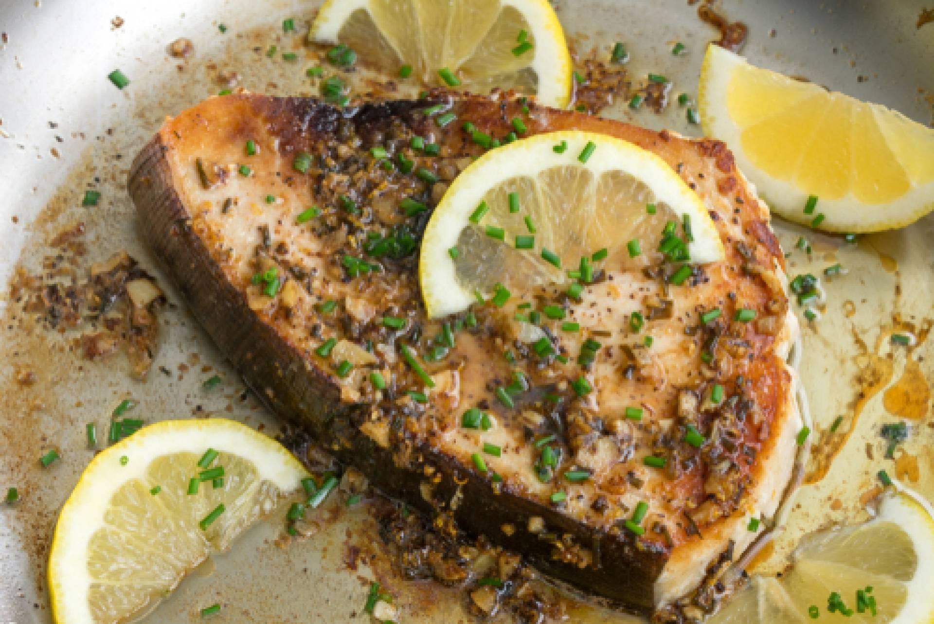 Lemon Roasted Swordfish